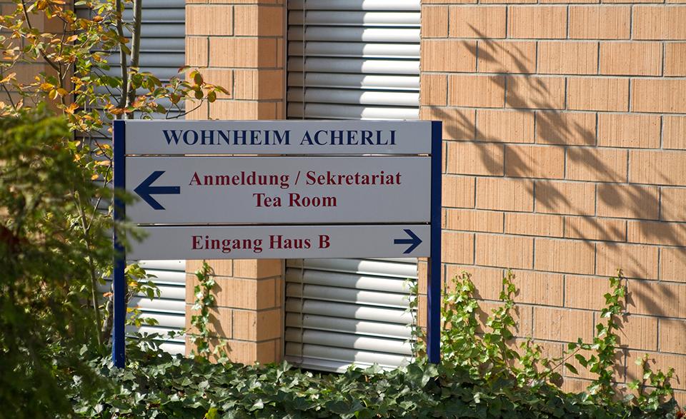 Über Uns: Wohnheim Acherli Standort