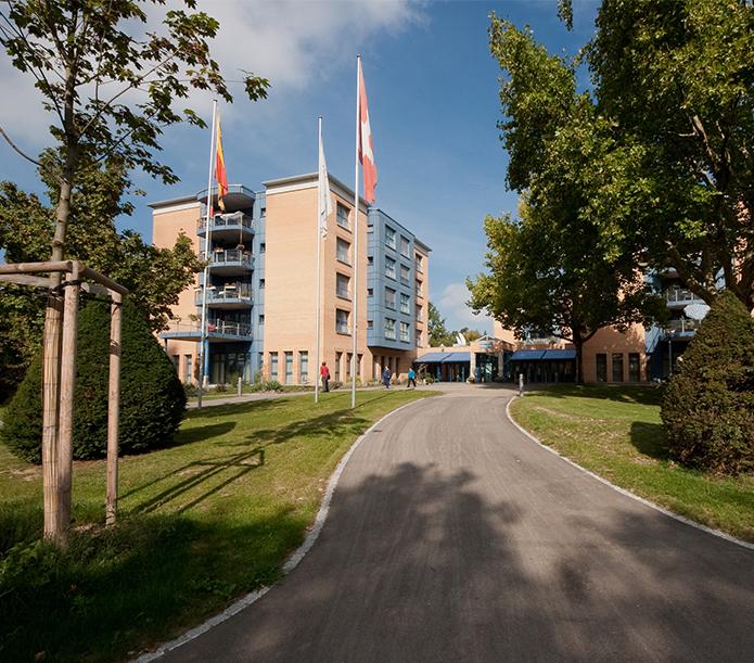 Das Wohnheim Acherli an der Waldmannstrasse 68